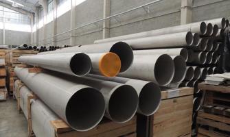 Fabricação de tubos em aço inox