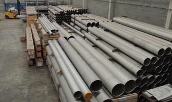 Tubo mecânico de aço inox