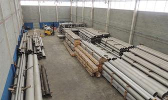 Tubos de aço inox para alta pressão